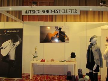 Standul clusterului Astrico Nord-Est