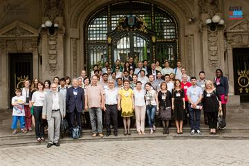 Poza de grup, participanti AUTEX 2015